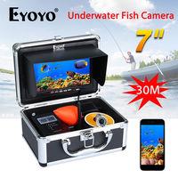 EYOYO WF13W Fish Finder 30M Detection Range Underwater Fishing Camera 1000TVL Night Vision Video WIFI Camera