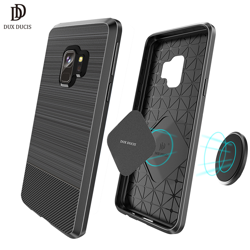 sale retailer 913bc 63463 US $4.99 |DUX DUCIS Magnetic Case for Samsung Galaxy S9 Plus Case Galaxy S9  Soft Silicone Funda Magnet Cover for Samsung S9 S9Plus Etui-in Fitted ...