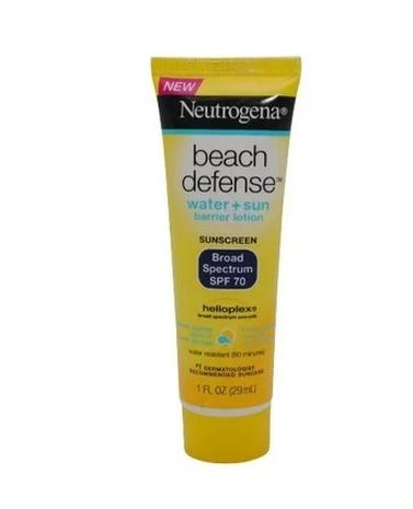 Neutrogena/ Neutrogena beach defense waterproof, oil free sunscreen cream 29ml SPF70