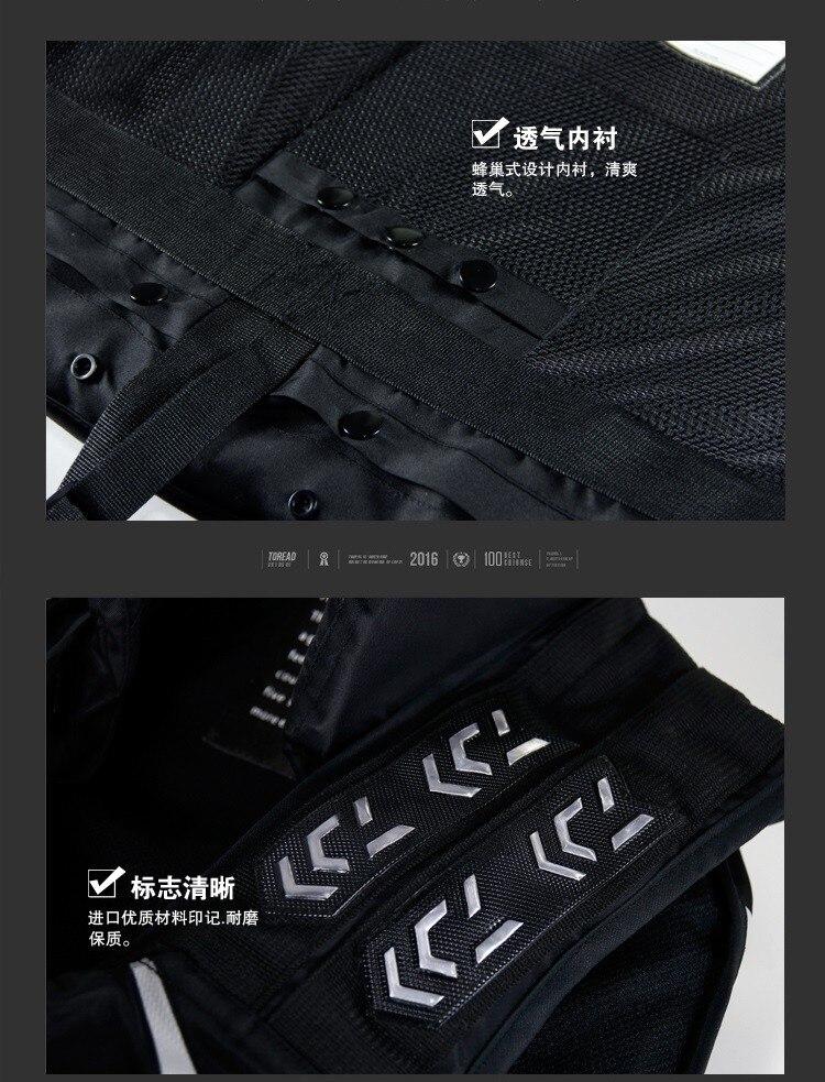 Fishing Vest Breathable Life jacket Flotation Black DF-3104 HOT Size M L XL XXL