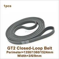 POWGE 1310 1324 1350 1360 1440 1474 1512 1524 1540 GT2 Timing Belt Width=3/6/9mm 2GT Synchronous Belt 1350-GT2 1524-2GT 1440-
