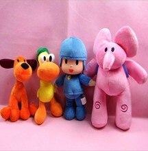 4pcs/lot 20 to 30 cm New Kids Brinquedos Gift POCOYO my cute little Stuffed Plush poni Toys Cute Dolls Stuffed Figure Toy Anime