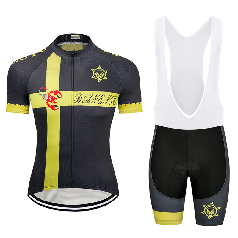 86e9c3ed5 2018 Seven color scorpion Cycling Jersey 9D GEL Pad Bike Shorts MTB Men s  Cycling Clothing summer bike wear maillot-in Cycling Sets from Sports ...