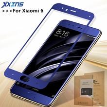 Tempered Glass For Xiaomi 6 MI6 6E 6P MI6E MI6P MCE16 5.15 Inch Screen protective Full Screen Cover Blue Black White Gold