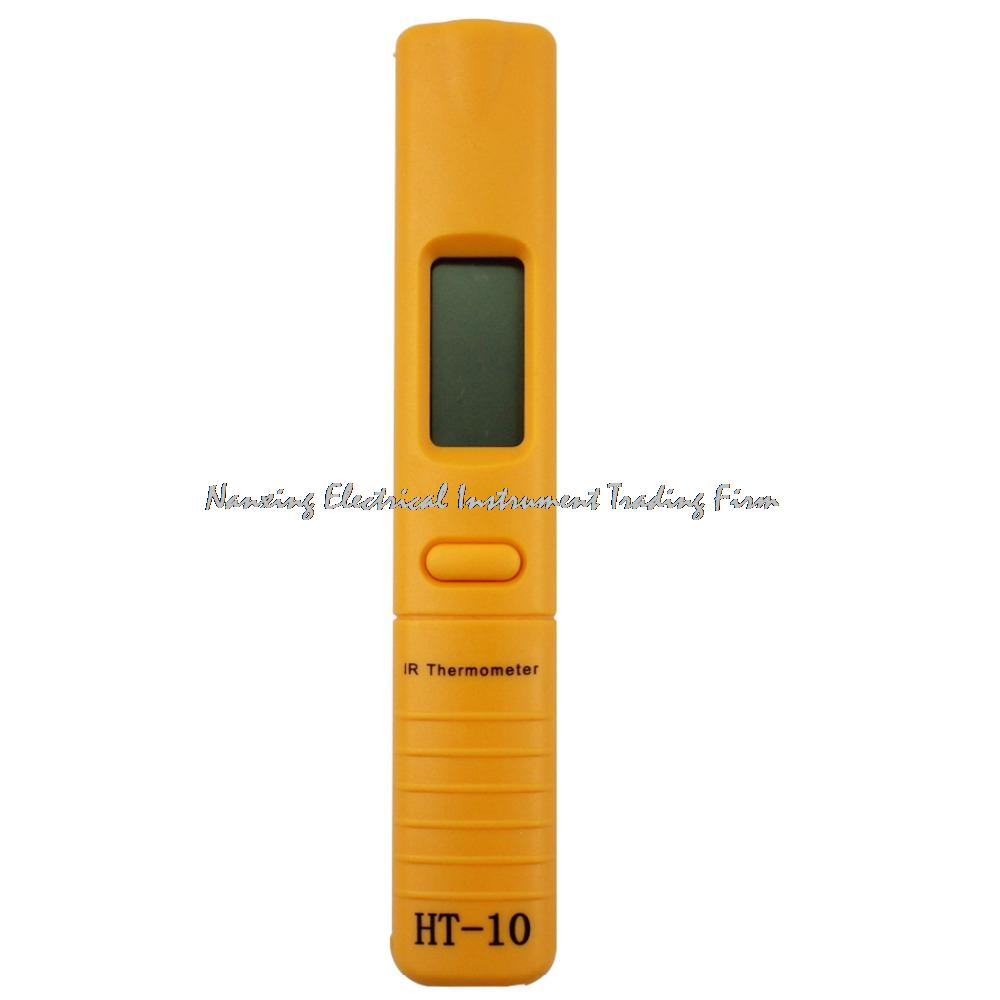 fast arrival portable practical ht10 pocket infrared thermometer for fridge dishwasher oven etc mini
