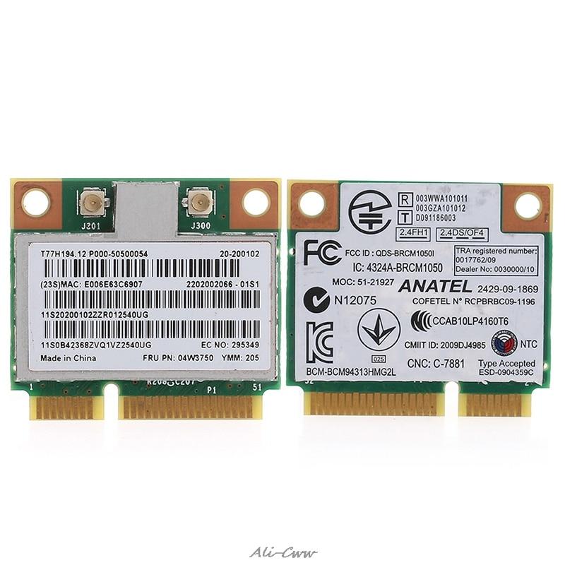 Mini PCI-e Wireless WIFI Board Card For Lenovo G700 B490 BCM94313HMG2L 4W3750