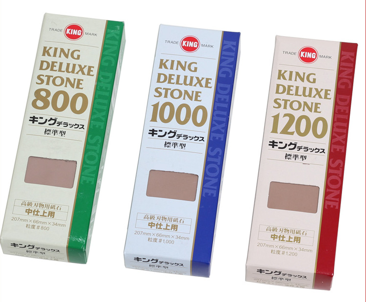 Japanese King Deluxe Wetstone 800 1000 1200 Waterstone for Sharpening Made in Japan in Abrasive Tools from Tools