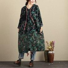 цена на Autumn Winter Windbreaker Women 2017 Plus Size Woman Coat with Hooded Long Sleeve Oversize Loose Trench Coat Casaco Feminino New