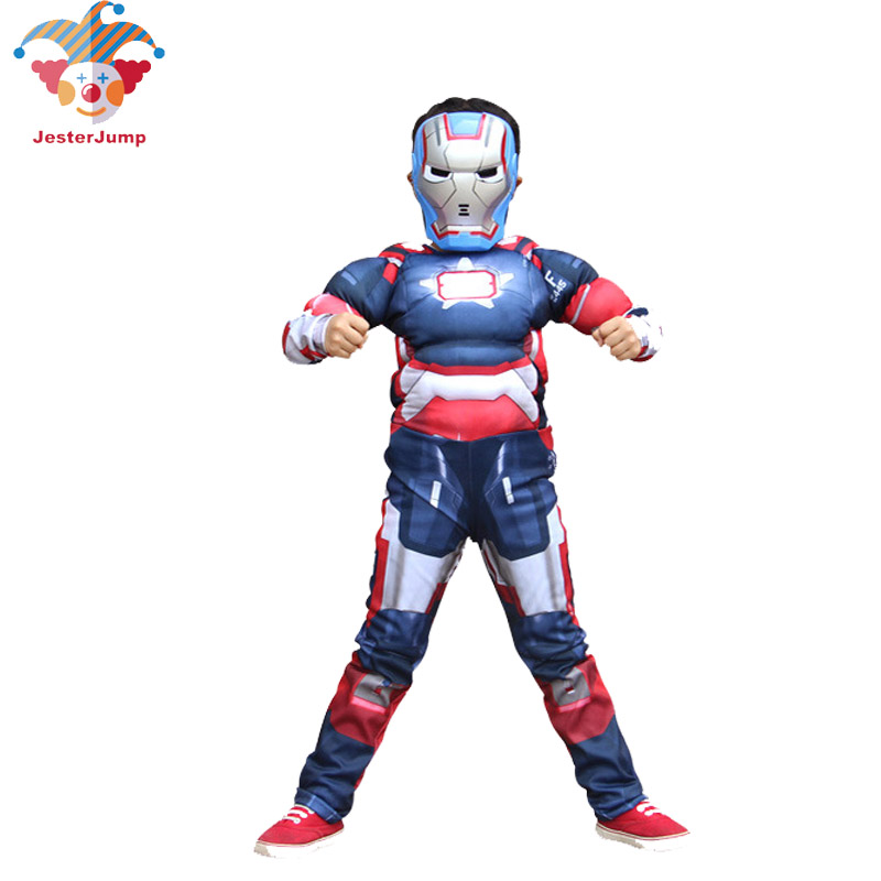 Personalised IRON MAN SUPER HERO 2-12y cape with FREE mask ANY NAME party gift