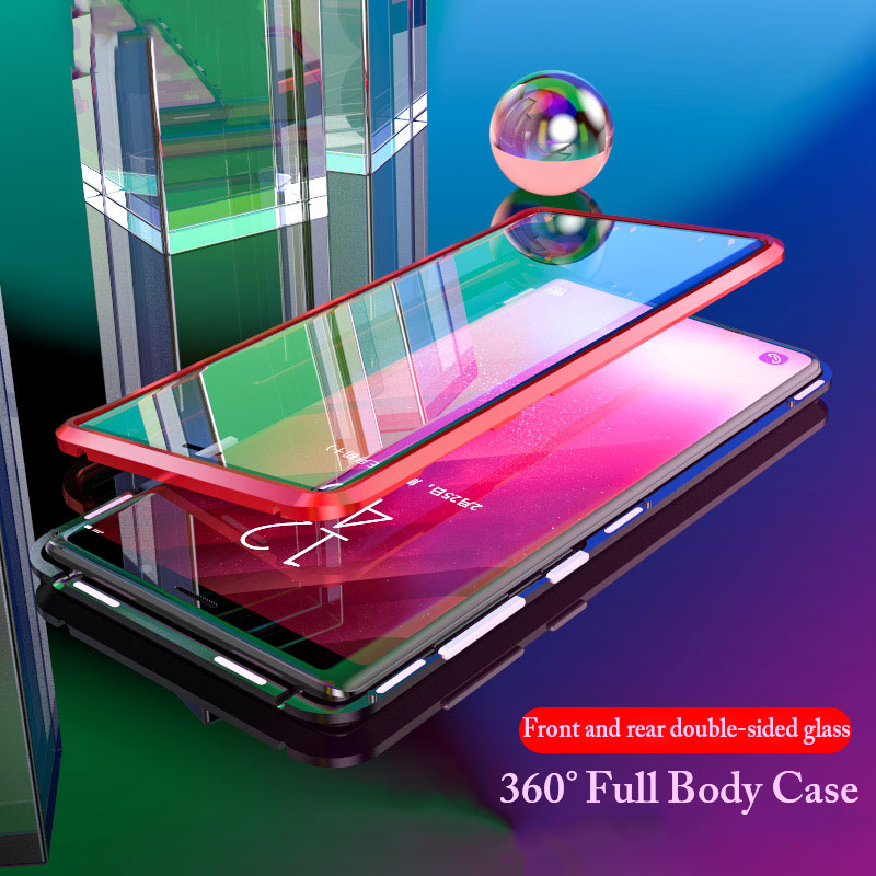 360 Full Case for Samsung Galaxy S9 Luxury Case Flip Metal Cover for Galaxy  Note 9 d9cd7f91cef1