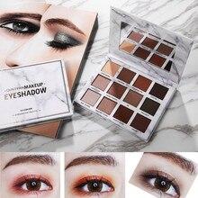 купить 12 Colors Cosmetic Matte Eyeshadow Long Lasting Waterproof Earth Palette Pressed Shimmer Glitter Eye Shadow Makeup Easy to Wear по цене 316.12 рублей