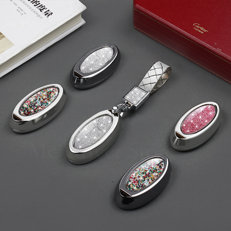 Etui à clé diamant Smart 3 4 boutons coque à distance pour Nissan ensoleillé ALTIMA MAXIMA Murano Versa Teana Sentra Infiniti G35 G37 q50l