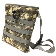 Metal Detector Finds Bag Digger's Pouch Belt Pouch Good Luck Gold Nugget Bags Camo for Metal Detecting