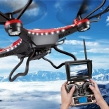 JJRC H8D 2.4Ghz RC Drone Headless Mode One Key Return 5.8G FPV RC Quadcopter With 2.0mp Camera Real time LCD Screen