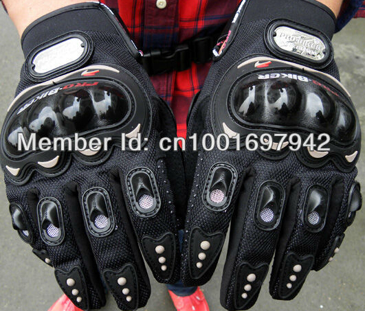 Hot sales PRO knight finger gloves racing motorcycle cross country full mittens air hockey protection