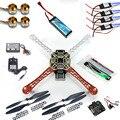 F02192-B RC 4 Ejes Múltiples QuadCopter UFO ARF/Kit Sin TX y RX: KK V2.3 circuitos + 1000KV Motor + 30A ESC + Lipo + F450 Flamewheel