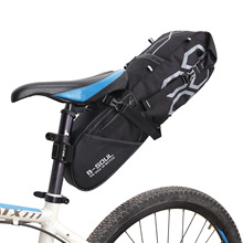 B-SOUL 2017 New Bike Bag Bicycle Saddle Tail Seat Waterproof Storage Bags Cycling Rear Pack Panniers Accessories 12L Max