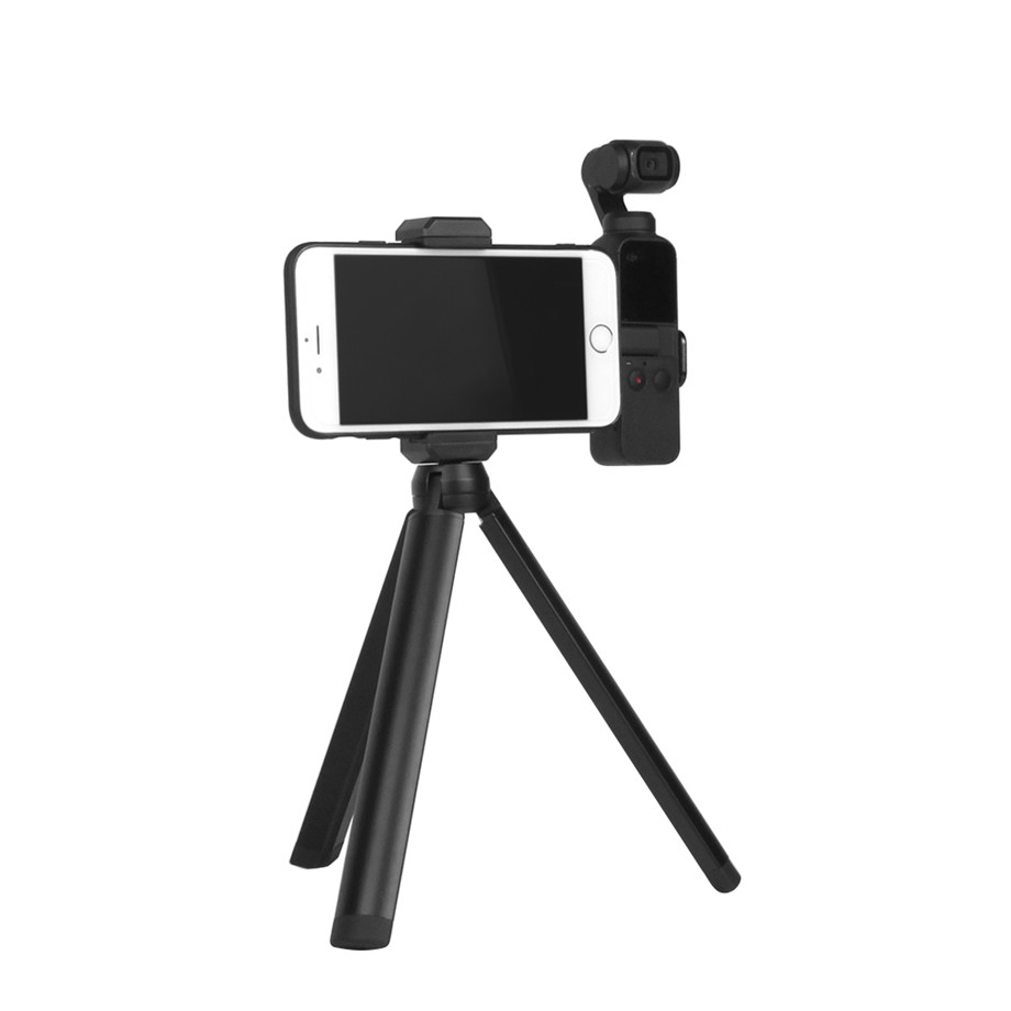 OSMO Pocket Smartphone Fixing Bracket Stand Clamp Extending Rod Tripod for DJI OSMO POCKET Gimbal Accessories 25