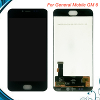 100% Tested For General mobile GM 6 GM6 Android one LCD Replacement Digitizer Touch Screen + lcd display assembly