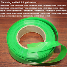 1kg Transparent Green Battery PVC Heat Shrink Tubing Encapsulation Film DIY Skin Insulation Sleeve