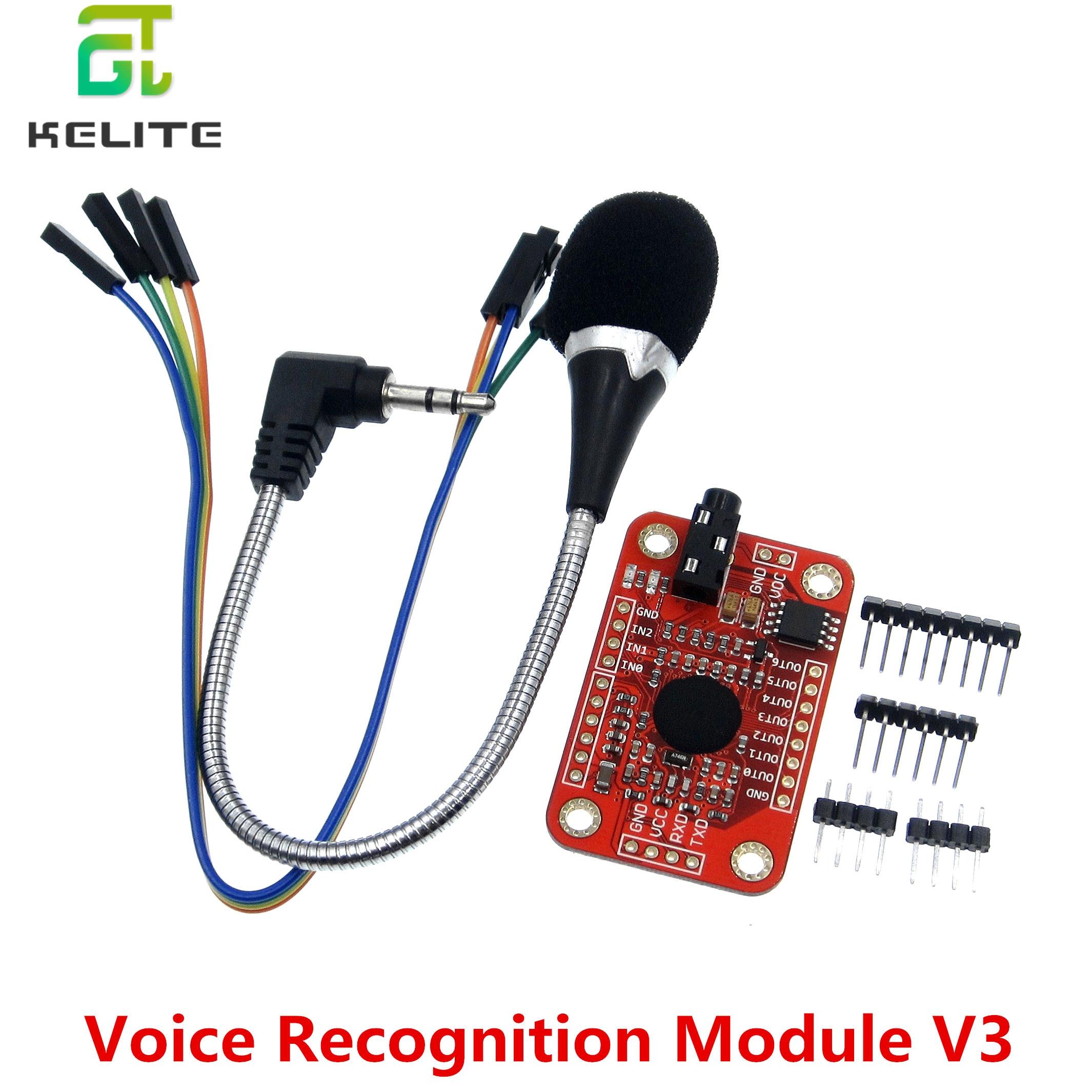 1 ensemble de reconnaissance de vitesse, Module de reconnaissance vocale V31 ensemble de reconnaissance de vitesse, Module de reconnaissance vocale V3