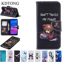 KDTONG Phone Case sFor Huawei Honor 8A Flip Leather Magnetic Wallet Card Cover Coque For Capa