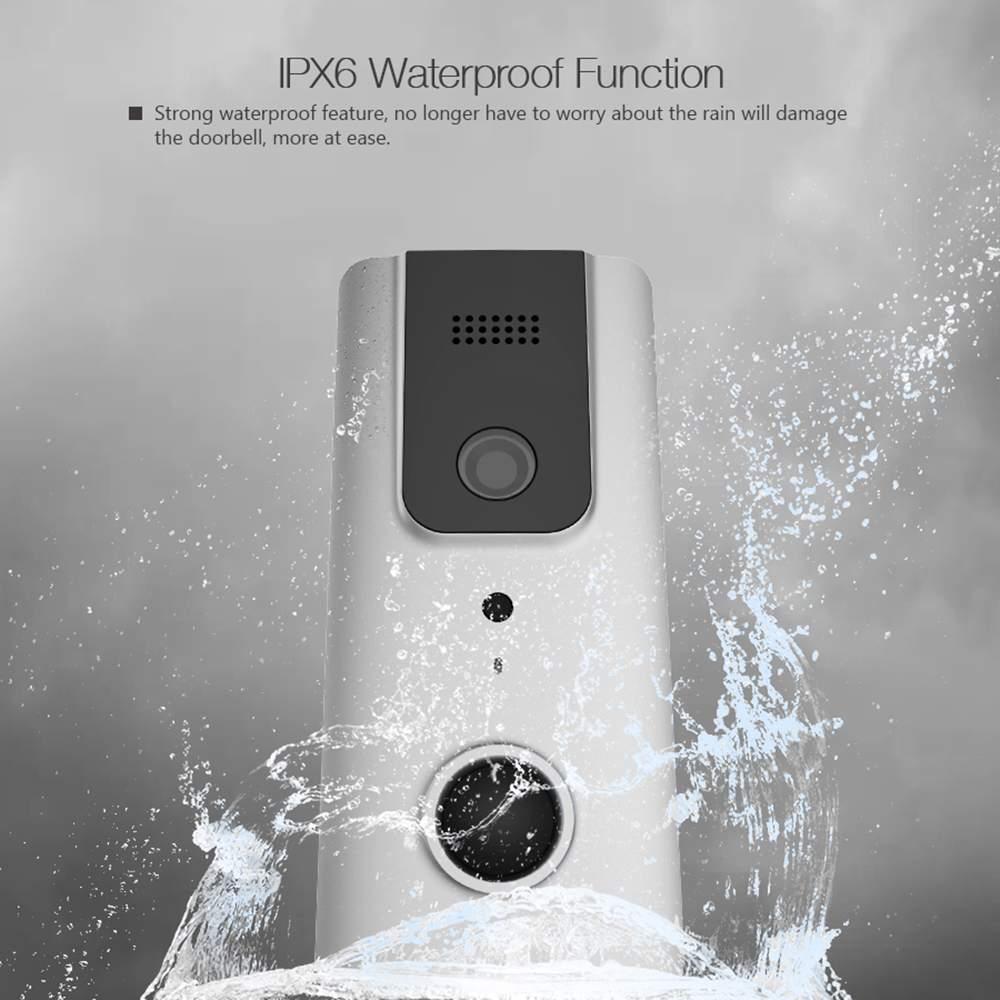 【Upgrade】Digoo Wireless Bluetooth WiFi Video Doorbell Intercom PIR Camera Phone