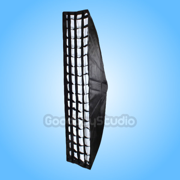 Godox 35 x 160cm / 14 x 63 Honeycomb Grid Softbox for Multiblitz Varilux (A) Studio Flash Strobe Light ...