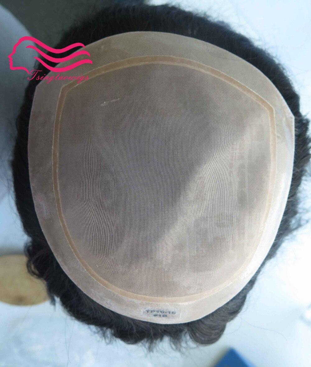 Haarverlängerung Und Perücken Tsingtaowigs Natürlich Aussehende Frauen Toupet Komfortable Hohe Qualität Haar Stück Feine Mono Basis Frauen Haar Stück Freies Verschiffen Stabile Konstruktion