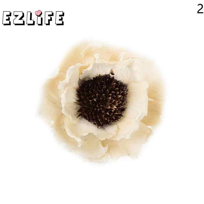 1 قطعة زهور الذرة الخشخاش زهور مجففة اليدوية زهور مجففة النباتات الطبيعية حفلة التموين مكتب ديكور غرفة المنزل عرض الزهور WED6589