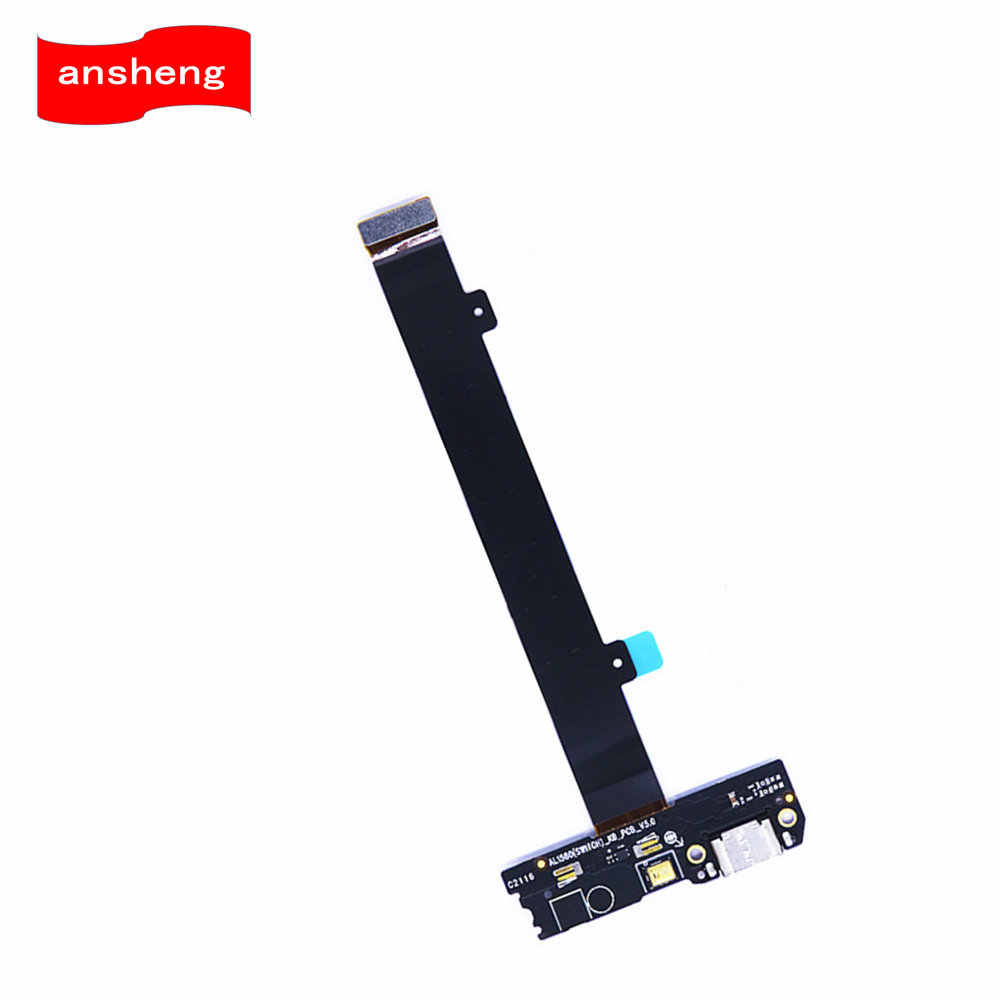 USB Port Charging Board Flex Cable With Microphone Power