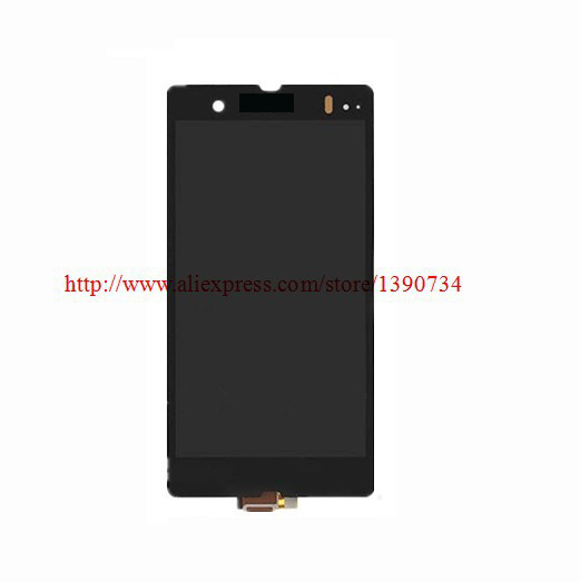 LCD Display + Touch Screen Digitizer+Screen Assembly For Sony Xperia Z LT36i LT36h LT36 C6603 C6602 L36H Free Shiping