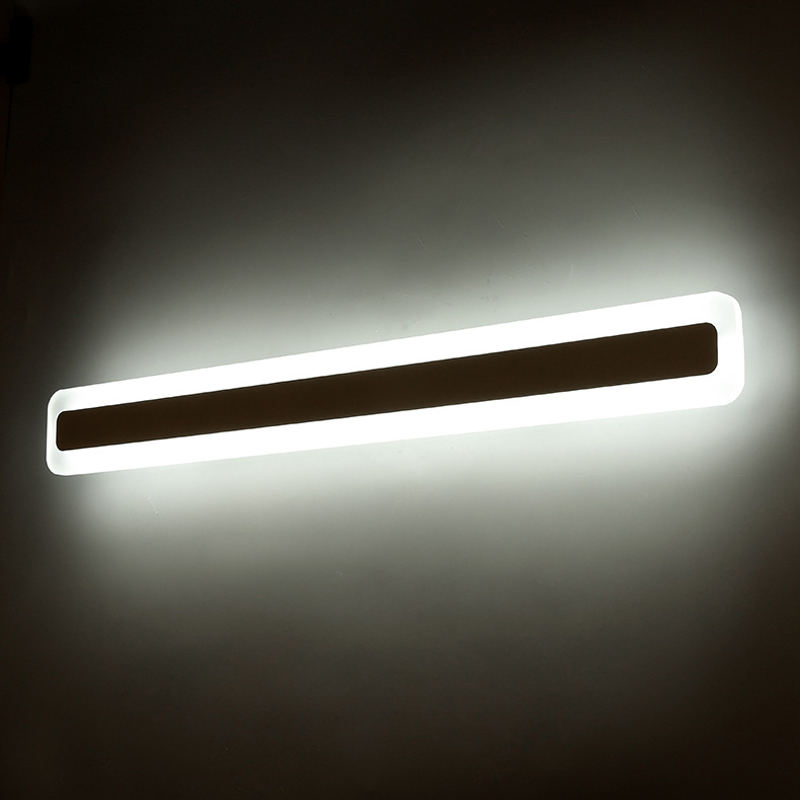 Longer LED mirror lights Modern makeup dressing room bathroom led mirror light fixture home lighting wall lamp mirror modren acryl led mirror wall lamp waterproof and anti fog dressing room makeup mirror light fixture for bathroom toilet