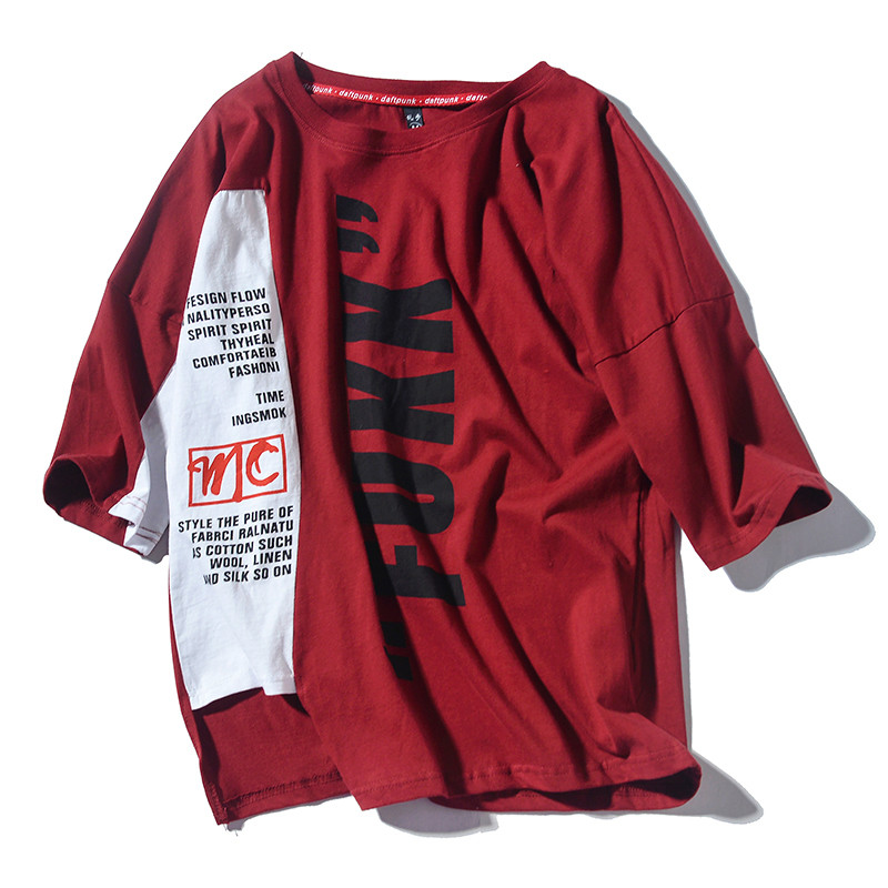 2019 Fashion Summer Gosha Rubchinskiy T-shirts Men Skateboard Hip Hop High Street Funny T Shirts Men 100% Cotton Top Tee Kpop
