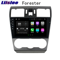 Liislee 2 din For Subaru Forester 2013~2018 Android Car Navigation GPS Auto Radio Big Screen Stereo Multimedia Player Bluetooth
