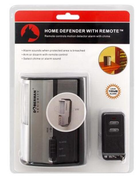 Doberman Security IR motion detector SE-0104 Infrared Home Defender Motion Detector alarm free shipping