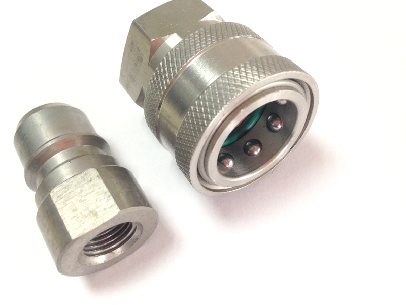 """Pressure Washer G1/4"""" Stainless Steel Quick Connect Coupler Metal plug"""