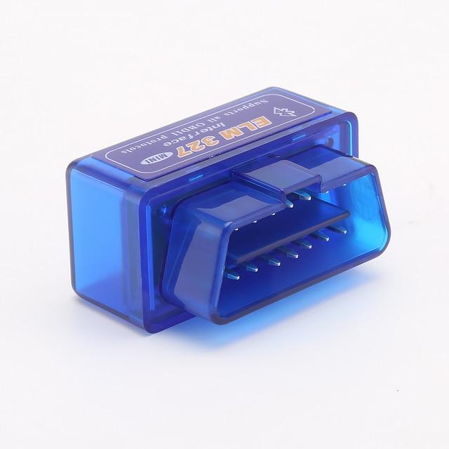 Mini ELM327 Bluetooth V2.1 V1.5 OBD2 Car Diagnostic Tool Mini ELM 327 Bluetooth For Android/Symbian For OBDII Protocols