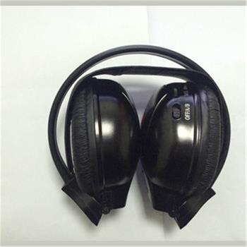 Topnavi na podczerwień IR słuchawki Stereo bezprzewodowy samochód słuchawki zestaw słuchawkowy podwójny kanał słuchawki ODTWARZACZ DVD samochodowych tanie i dobre opinie RL-HREP