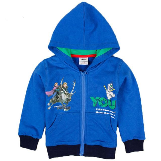 blue clothes boys hoodies kids wear children outerwear long sleeve coat baby sweatshirts new year sports suits cotton clothing