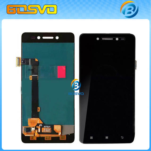 100% Guarantee LCD Display Touch Screen Digitizer Assembly For Lenovo S90 S90-T S90-A S90-U with frame + track number +tool