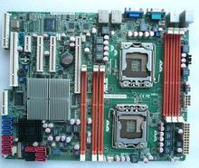 Оригинальный материнская плата Z8NA-D6 LGA 1366 DDR3 двойной 1366 Server доска настольных плата
