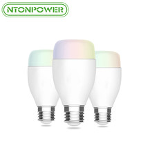 NTONPOWER WiFi Smart LED Bulb Dimmable Light Bulb for Home Timed LEDs Bulb Lamp Compatible with Alexa and Google Assistant BTZ1(China)