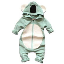 Autumn Baby Children Rompers Cute bear Baby Sweater Style Romper Hooded Baby Boys and Girls