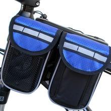 4 en 1 Multifunción Bolsa de Sillín de Bicicleta Con Bolsillo para la Botella de Agua a prueba de agua Bolsas de Ciclismo Posterior de la Bici de MTB Bolsa de Cola Asiento Trasero 3 Color
