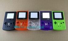 Capa invólucro substituição para nintendo gbc, 5 cores caixa de substituição completa da cor do console gameboy