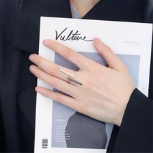 Timlee R001  Free shipping  New Creative Simple Geometry Opening Finger Rings,Personality Jewelry Wholesale
