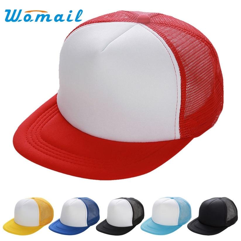 Hot Marketing Unisex Mesh Baseball Cap Hat Blank Visor Hat Adjustable Drop Shipping H49 basic adjustable baseball cap pigment dye hats monogram hat blank unisex adult clothing