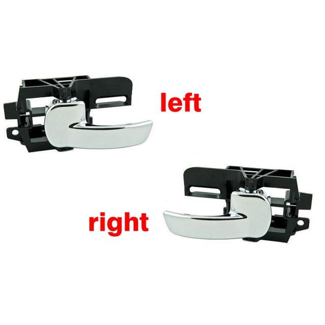 Ручка для межкомнатной двери автомобиля (Левая или правая) для Nissan Qashqai 2007 2008 2009 2010 2011 80670 JD00E 80671 JD00E