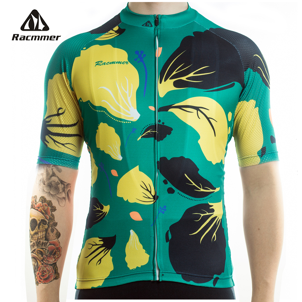 Racmmer 2020 New Team Cycling Jersey Pro Short Clothes Ropa Ciclismo Men Bicicleta Bicycle Mtb Road Bike Kit Wear Maillot #DX-65